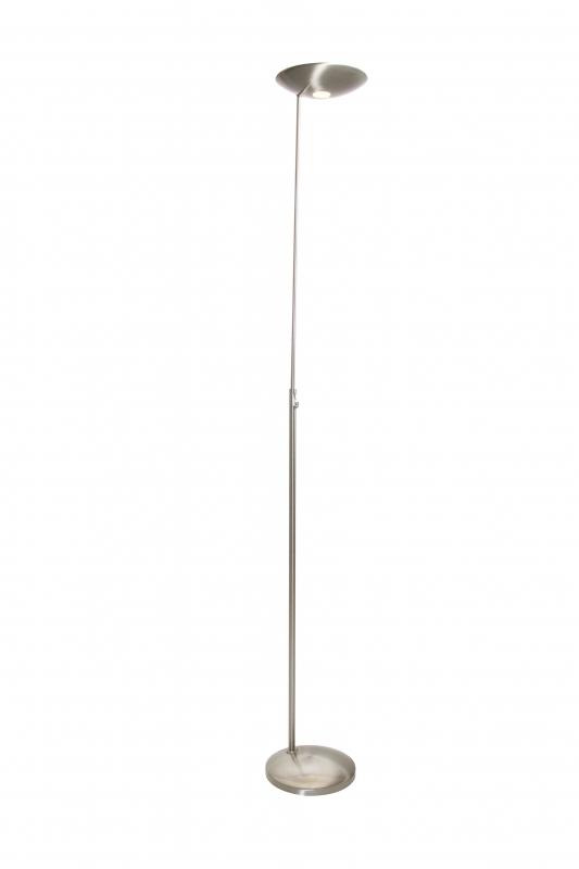 Tamara klassieke vloerlamp staal by steinhauer 7555st steinhauer vloerlampen led vloerlampen - Klassieke vloerlamp ...