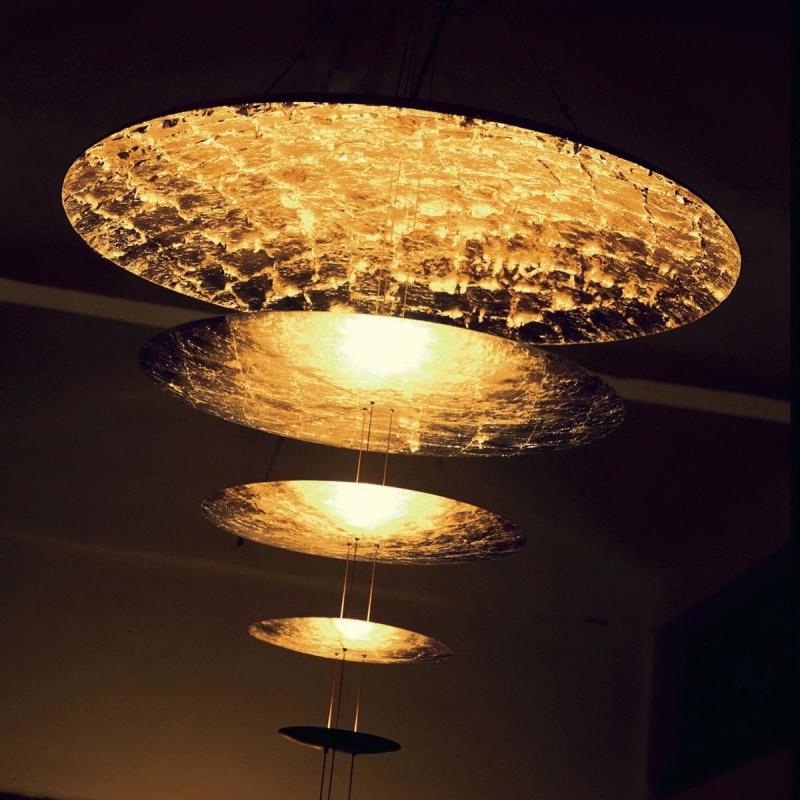 sistema macchina della luce mod d catellani smith mld gold catellani smith pendant lamps. Black Bedroom Furniture Sets. Home Design Ideas