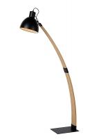 CURF vloerlamp zwart by Lucide 03713/01/30