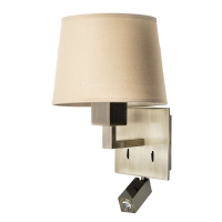 BALI wall lamp by LaCreu 05-3218-E4-82 + PAN-157-BY