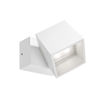 CUBUS wandlamp wit by Leds-C4 OUTDOOR 05-9685-14-CLV1