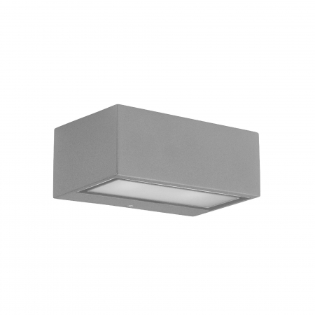nemesis wandlamp grijs by leds c4 outdoor 05 9800 34 cl wandlampen led lampen mylamp. Black Bedroom Furniture Sets. Home Design Ideas