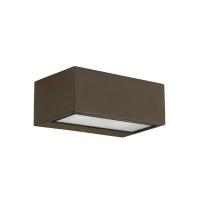 NEMESIS wandlamp bruin by Leds-C4 Outdoor 05-9800-J6-CL