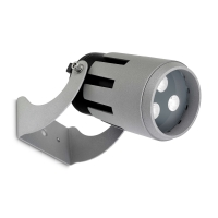 POWELL spot grijs by Leds-C4 OUTDOOR 05-9813-34-CLV1