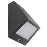 ANGLE wandlamp antraciet by Leds-C4 OUTDOOR 05-9836-Z5-CL