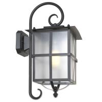 RUSTICA wandlamp roestbruin by Leds-C4 Outdoor 05-9866-18-M3