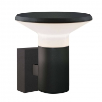 SPACE wandlamp antraciet by Leds-C4 Outdoor 05-9872-Z5-CL