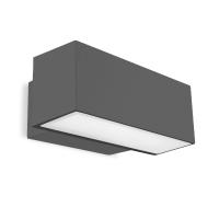 AFRODITA wandlamp antraciet by Leds-C4 Outdoor 05-9879-Z5-CL