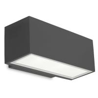 AFRODITA wandlamp antraciet by Leds-C4 Outdoor 05-9911-Z5-CL