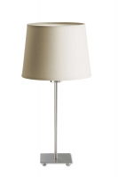 LYON table lamp with beige shade by LaCreu 10-1567-81-82 + PAN-161-BY