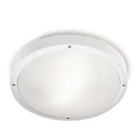 OPAL plafondlamp wit by Leds-C4 OUTDOOR 15-9677-14-CL