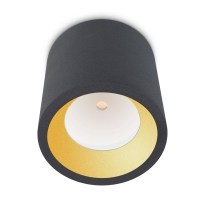 COSMOS plafondlamp antraciet by Leds-C4 Outdoor 15-9790-Z5-CL