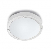 BASIC plafondlamp wit by Leds-C4 OUTDOOR 15-9835-14-CL