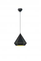 HOUSTON Hanglamp Mat zwart by Trio Leuchten 300300132