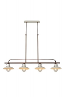 ROMER hanglamp beige by Lucide 30376/04/38