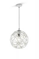 JACOB Hanglamp Antiek grijs by Trio Leuchten 305100161