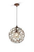 JACOB Hanglamp Antiek koper by Trio Leuchten 305100162