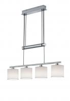 GARDA Hanglamp Nikkel mat by Trio Leuchten 305400401