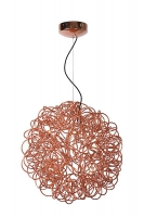 GALILEO pendant lamp copper by Lucide 31476/50/17