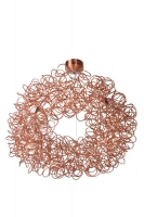 GALILEO pendant lamp copper by Lucide 31476/93/17