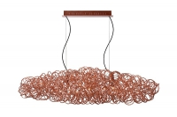 GALILEO pendant lamp copper by Lucide 31476/99/17