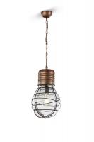 EDDA Hanglamp Antiek koper by Trio Leuchten 340100162