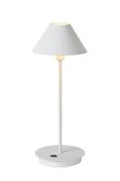 TISK LED tafellamp wit by Lucide 36506/10/31
