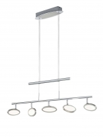 DUELLANT LED Hanglamp Chroom by Trio Leuchten 372010506