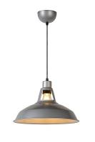 BRASSY-BIS hanglamp grijs by Lucide 43401/31/36