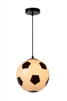 FOOTBALL hanglamp zwart by Lucide 43407/25/30
