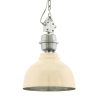 GRANTHAM hanglamp beige, chroom by Eglo 49172