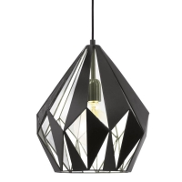 CARLTON 1 hanglamp Vintage by Eglo 49255