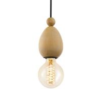 AVOLTRI hanglamp eiken by Eglo 49376