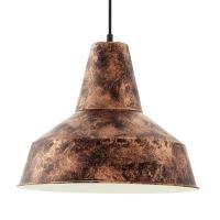 SOMERTON hanglamp koperkleurig by Eglo 49388