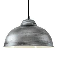 TRURO 2 hanglamp antiek zilver by Eglo 49389