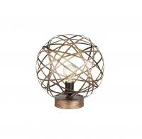 JACOB Tafellamp Antiek koper by Trio Leuchten 505100162