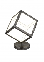 DICE LED Tafellamp Antiek grijs by Trio Leuchten 520112061
