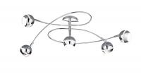 Serie 8282 LED Plafondlamp Trio Leuchten 628290506