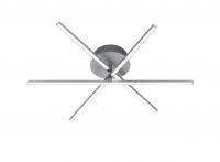 HIGHWAY LED Geborsteld aluminium Trio Leuchten 671810305