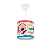Mickey Mouse pendant lamp white by Philips 717523016