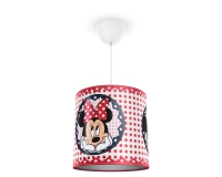 Minnie Mouse pendant lamp red by Philips 717523116