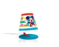 Mickey Mouse table lamp white by Philips 717643016
