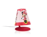 Minnie Mouse table lamp red by Philips 717643116