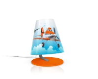 Planes table lamp orange by Philips 717645316