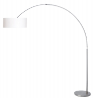 STRESA moderne vloerlamp Staal by Steinhauer 9679ST