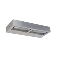 Spectrum LED Wandlamp Staal by Steinhauer 7325ST