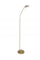 TAMARA klassieke vloerlamp Messing by Steinhauer 7530ME