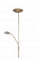 TAMARA klassieke vloerlamp Messing by Steinhauer 7531ME