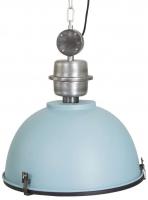 BIKKEL industriële hanglamp Blauw by Steinhauer 7586BL