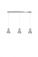TRIPOLOS moderne hanglamp Staal by Steinhauer 7631ST